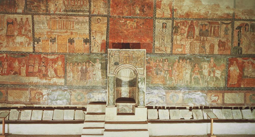 Frescos Sinagoga de Duras Europos
