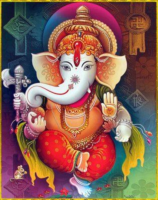 Ganesha y la Mano de Fátima