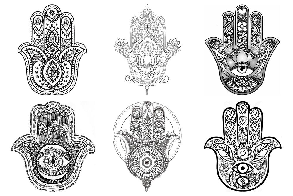 La mano de Fátima y las Mandalas