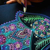 Consejos para elegir los colores de tu Mano de Fátima